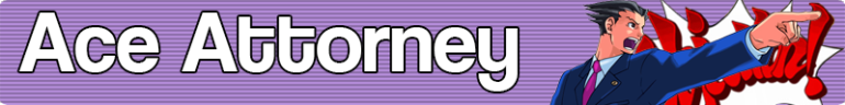 Ace Attorney Banner