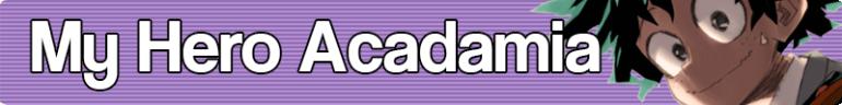 My Hero Acadamia Banner